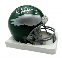 Wilbert Montgomery Signed Eagles Throwback Mini-Helmet (JSA COA) (See Description) at PristineAuction.com