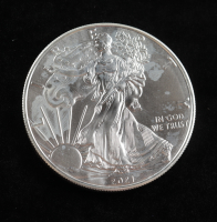 2021 American Silver Eagle $1 One Dollar Coin at PristineAuction.com