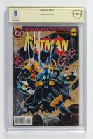 "Kelley Jones Signed 1993 ""Batman"" Issue #501 DC Comic Book (CBCS Encapsulated) at PristineAuction.com"