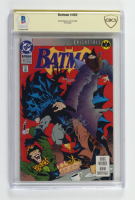 "Kelley Jones Signed 1993 ""Batman"" Issue #492 DC Comic Book (CBCS Encapsulated) at PristineAuction.com"