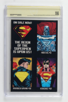 """Dan Jurgens Signed 1993 """"Superman"""" Issue #78 Reign Of The Supermen Collectors Edition DC Comic Book (CBCS Encapsulated) at PristineAuction.com"""