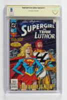 "June Brigman Signed 1993 ""Supergirl: Team Luthor"" Issue #1 DC Comic Book (CBCS Encapsulated) at PristineAuction.com"