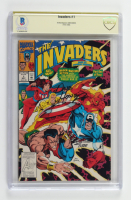 """Dave Hoover Signed 1993 """"Invaders"""" Issue #1 Marvel Comic Book (CBCS Encapsulated) at PristineAuction.com"""