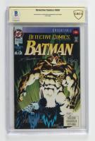 "Graham Norton, Chuck Dixon, Scott Hanna Signed 1993 ""Batman"" Issue #666 DC Comic Book (CBCS Encapsulated) at PristineAuction.com"