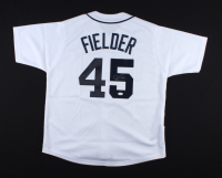 Cecil Fielder Signed Jersey (JSA COA) at PristineAuction.com