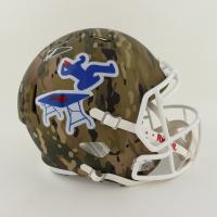 Stefon Diggs Signed Bills Full-Size Camo Alternate Speed Helmet (Beckett Hologram) at PristineAuction.com