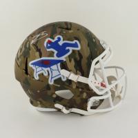 Stefon Diggs Signed Bills Full-Size Camo Alternate Speed Helmet (Beckett Hologram) (See Description) at PristineAuction.com