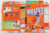 Albert Pujols Signed Wheaties Cereal Box (Beckett LOA) at PristineAuction.com