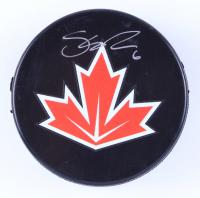 Shea Weber Signed Team Canada Logo Hockey Puck (Weber Hologram & YSMS Hologram) at PristineAuction.com