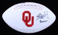 "Spencer Rattler Signed Oklahoma Sooners Logo Football Inscribed ""Boomer!"" (Beckett COA) (See Description) at PristineAuction.com"