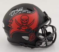 Mike Alstott Signed Buccaneers Eclipse Alternate Speed Mini-Helmet (Beckett COA) at PristineAuction.com