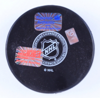 Kasperi Kapanen Signed Penguins Logo Hockey Puck (YSMS Hologram & Kapanen Hologram) at PristineAuction.com