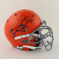 Javonte Williams Signed Youth Full-Size Authentic On-Field Helmet (Beckett Hologram) (See Description) at PristineAuction.com