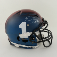 Emmanuel Sanders Signed Youth Full-Size Authentic On-Field Vengeance Helmet (Beckett Hologram) at PristineAuction.com