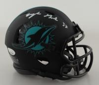 Myles Gaskin Signed Dolphins Speed Mini Helmet (JSA COA) at PristineAuction.com