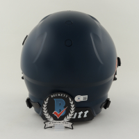 Javonte Williams Signed Full-Size Youth Authentic On-Field Matte Navy Blue Vengeance Helmet (Beckett COA) at PristineAuction.com