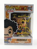 "Chris Rager Signed Pop! Animation ""Dragon Ball Z"" #812 Hercule Funko Pop! Vinyl Figure Inscribed ""I Am the Champ!! Mr. Satan!!"" (JSA COA) at PristineAuction.com"