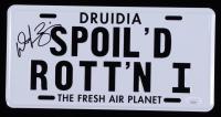 "Daphne Zuniga Signed ""Spaceballs"" License Plate (JSA COA) at PristineAuction.com"