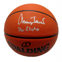 """Jerry West Signed Spalding NBA Game Ball Basketball Inscribed """"Mr. Clutch"""" (PSA COA) at PristineAuction.com"""