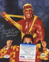 """Jimmy Hart Signed 8x10 Photo Inscribed """"Mouth of the South"""" & """"2005 HOF"""" (PSA COA) at PristineAuction.com"""