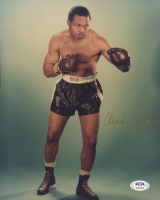 Archie Moore Signed 8x10 Photo (PSA COA) at PristineAuction.com