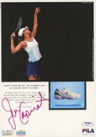 Jennifer Capriati Signed 7.5x10.5 Photo (PSA COA) at PristineAuction.com