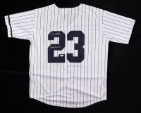 """Don Mattingly Signed Yankees Jersey Inscribed """"Donnie Baseball"""" (JSA COA) at PristineAuction.com"""