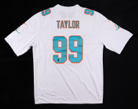 Jason Taylor Signed Dolphins Jersey (Beckett Hologram) at PristineAuction.com
