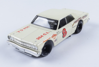 Dale Earnhardt Sr. 1964 NASCAR #8 Doc's Cycle Center - 1st Asphalt Win - 1:24 Premium Action Diecast Car at PristineAuction.com