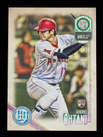 Shohei Ohtani 2018 Topps Gypsy Queen GQ Logo Swap #89 at PristineAuction.com
