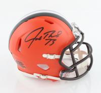 Joe Thomas Signed Browns Speed Mini Helmet (Schwartz Sports COA) at PristineAuction.com