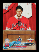 Shohei Ohtani 2018 Topps Opening Day #200 RC at PristineAuction.com