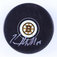 Kevan Miller Signed Bruins Logo Hockey Puck (Miller COA) at PristineAuction.com