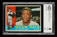 Willie Mays 1960 Topps #200 (BCCG 6) at PristineAuction.com