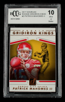 Patrick Mahomes II 2017 Donruss Rookie Gridiron Kings #2 (BCCG 10) at PristineAuction.com