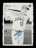 Shohei Ohtani 2018 Topps Heritage High Number '69 Topps Deckle Edge #1 at PristineAuction.com