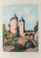 "Laurant Signed ""Port De Allenmonds"" Limited Edition 21x29 Lithograph (See Description) at PristineAuction.com"