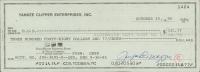 Joe DiMaggio Signed Hand-Written 1995 Personal Bank Check (JSA LOA) at PristineAuction.com