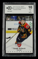 Connor McDavid 2015 ITG CHL Draft #21 Young Stars (BCCG 10) at PristineAuction.com