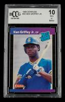 Ken Griffey Jr. 1989 Donruss #33 RC (BCCG 10) at PristineAuction.com