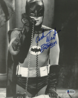 "Adam West Signed ""Batman"" 8x10 Photo Inscribed ""Batman"" (Beckett COA) at PristineAuction.com"