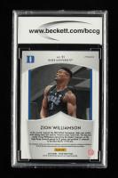Zion Williamson 2019-20 Panini Prizm Draft Picks Prizms Red #51 CR (BCCG 10) at PristineAuction.com