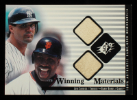 Jose Canseco / Barry Bonds 2000 SPx Winning Materials Update #JCBB at PristineAuction.com
