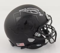 "Johnny Manziel Signed Texas A&M Aggies Matte Black Mini Helmet Inscribed ""12 HT"" (Beckett COA) at PristineAuction.com"