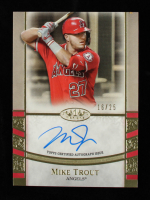 Mike Trout 2021 Topps Tier One Autographs #T1AMT #16/25 at PristineAuction.com
