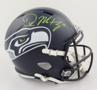 DK Metcalf Signed Seahawks Full-Size Speed Helmet (Beckett COA) at PristineAuction.com