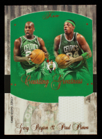 Gary Payton / Paul Pierce 2004-05 Flair Courting Greatness Jersey #CGPP at PristineAuction.com