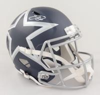 Emmitt Smith Signed Cowboys Full-Size AMP Alternate Speed Helmet (Beckett COA & Prova Hologram) at PristineAuction.com