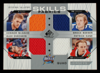 Connor McDavid / Brock Boeser / Alexander Ovechkin / Patrick Kane 2018-19 SP Game Used '18 All Star Skills Fabrics Quad #AS4STARS at PristineAuction.com