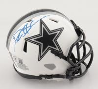Deion Sanders Signed Cowboys Lunar Eclipse Alternate Speed Mini-Helmet (Beckett Hologram) (See Description) at PristineAuction.com